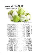 溝口祭典会報誌「こもれび」7月号のサムネイル